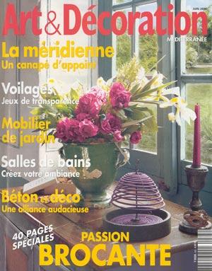 Photo of Art Decor Magazine Cover