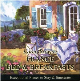 Karen Brown's France Bed & Breakfast guide book cover
