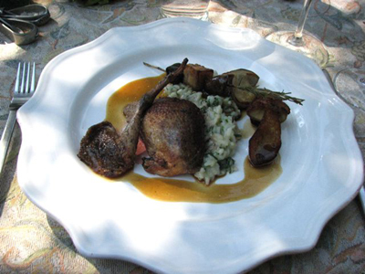 French Chefs plate